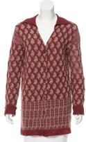 Dries Van Noten Wool & Cashmere-Blend Jacquard Sweater