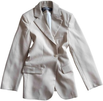 Jacquemus La Riviera Beige Wool Jackets
