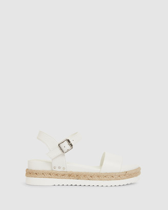 Sandler - Women's White Flat Sandals - Wander - Size One Size, 37 at The Iconic