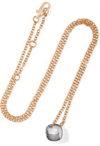 Pomellato Nudo 18-karat Rose Gold Topaz Necklace - one size