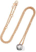 Pomellato Nudo 18-karat Rose Gold Topaz Necklace