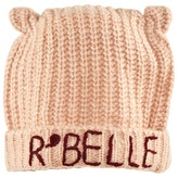 Scotch R'Belle Pale Pink Beanie With Ears