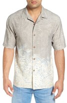 Tommy Bahama 'Palm of Duty' Original Fit Print Silk Camp Shirt