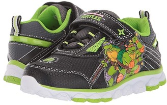 Josmo Kids Ninja Turtle Sneaker (Toddler/Little Kid) (Black/Green 1) Boys Shoes