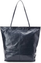 Latico Leathers Navy Theresa Scalloped Tote