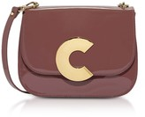 Coccinelle Craquante Rock Medium Patent Leather Shoulder Bag