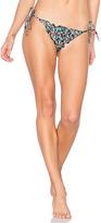 Salinas Truly Side Tie Bikini Bottom in Black. - size S (also in )