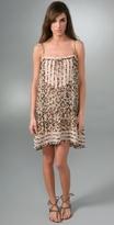 Karta Print Sleeveless Dress