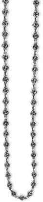 King Baby Studio Rose Motif Neck Sterling Silver Necklace