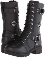 Harley-Davidson Eda Women's Lace-up Boots