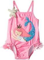 Mud Pie Mermaid One-Piece Swimsuit Girl's Swimsuits One Piece