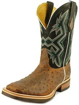 Nocona Md5111 Men Square Toe Leather Brown Western Boot.