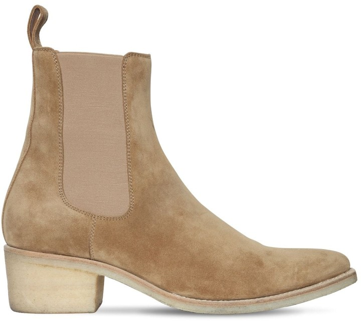 Amiri 50mm Suede Chelsea Boots