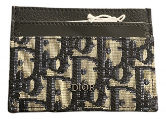 Christian Dior Beige Cloth Small bags, wallets & cases