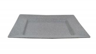 Jab Concrete Melamine Square Platter 38cm Grey