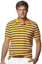 Chaps Men's Classic-Fit Texture-Striped Pique Polo