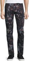 J Brand Hydrox Tie-Dye Printed Stretch Pants, Spero Sprint