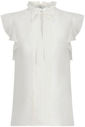 Etro Tie-neck silk blouse