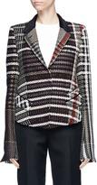Haider Ackermann Metallic tweed blazer