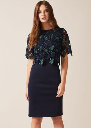 Phase Eight Alice Lace Bodice Dress