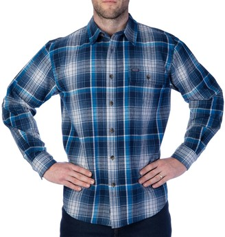 Buffalo David Bitton Men's Smith's Workwear Plaid Flannel Button-Down Shirt