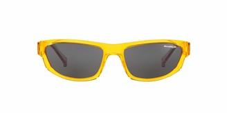 Arnette Men's Lost Boy Rectangular Sunglasses Transparent Violet 56 mm
