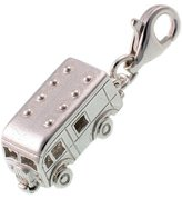 Welded Bliss Sterling 925 Silver Charm. Horse Box Lorry Opens To Show Horse, Clip Fit WBC1191