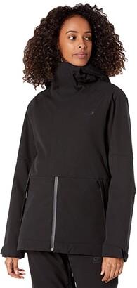 Oakley Camellia Shell Jacket (Blackout) Women's Coat