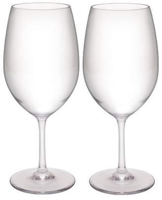 Zak Designs Trinity 2pk Red Wine Glasses