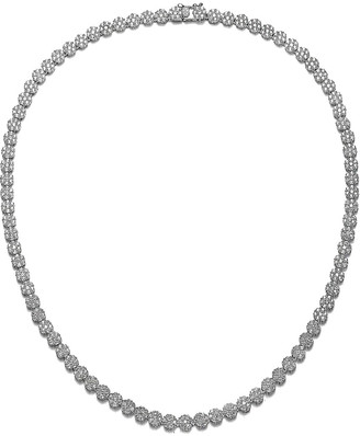 Genevive Silver Necklace