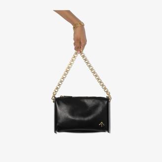 MANU Atelier black Carmen leather cross body bag