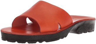 Jerusalem Sandals Women's Bashan Molded Footbed Slide Sandal