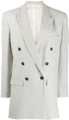 Etoile Isabel Marant Oversized Double-Breasted Blazer