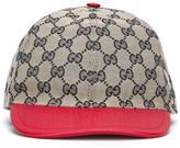 Gucci Kids - GG Supreme baseball cap - kids - Cotton/Polyester/Polyimide - 56 cm