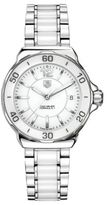 Tag Heuer Ladies' Formula 1 Stainless Steel White Dial Watch