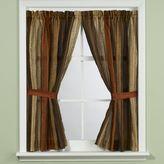 Manor Hill Sierra Copper Bathroom Window Curtain Panel Pair