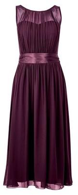 Dorothy Perkins Womens Showcase Tall Oxblood 'Bethany' Midi Dress