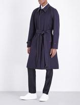 Alexander McQueen Belted wool coat