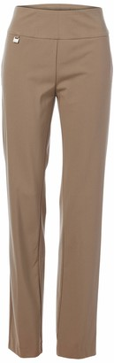 Slim Sation SLIM-SATION Women's Wide Band Pull On Narrow Leg Pants