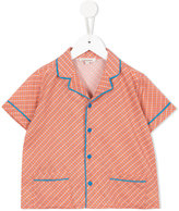 Caramel Caper shirt - kids - Cotton - 10 yrs
