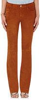 J Brand Women's Brya Suede Jeans-BROWN