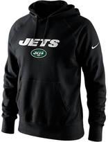Nike Men's New York Jets NFL Lockup Cotton Hoodie