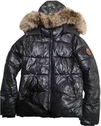 Bel Air Black Fox Coat for Women