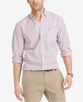 Izod Men's Check Long-Sleeve Shirt