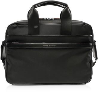 Porsche Design Lane SHZ Black Briefbag