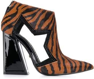 Kat Maconie Pony tiger print boots
