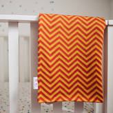 ToutPetit Personalised Chevron Baby Blanket
