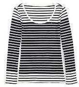 Tommy Hilfiger Women's Stripe Boatneck Tee