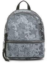 Violet Ray Velvet Star Mini Backpack - Women's