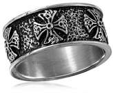 Modern Bride 10 Mm Stainless Steel Wedding Band Family
